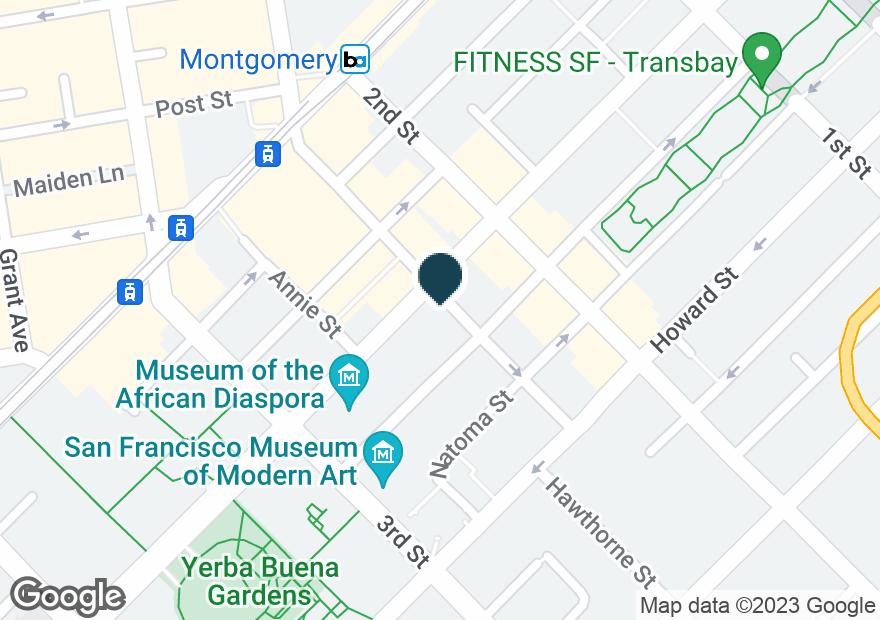 Google Map of116 NEW MONTGOMERY ST