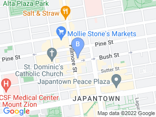 Map of Russian Hill Dog Grooming Express Dog Boarding options in San Francisco | Boarding