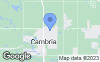 Map of Cambria, IL