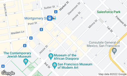 Map of Atlas Tap Room at 606 Mission St San Francisco, CA