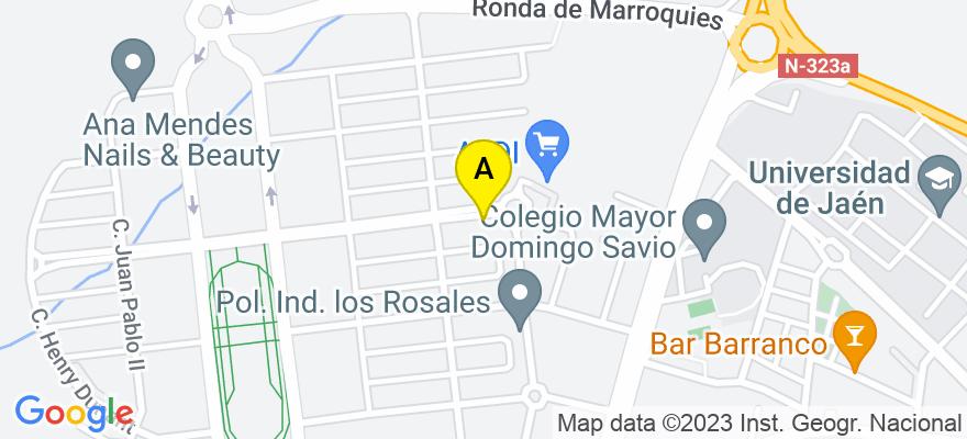 situacion en el mapa de . Direccion: C/ Catalina Mir Real, nº 26, 23009 Jaén. Jaén