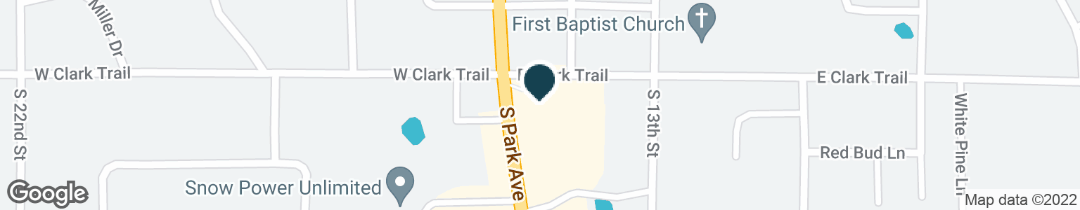 Google Map of1606 S PARK AVE