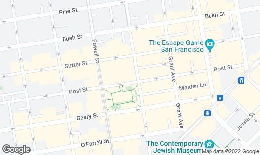 Map of Apple Union Square at 300 Post St San Francisco, CA