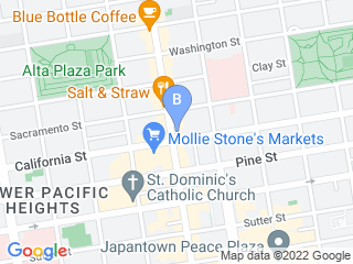Map of Ds Dogs Dog Boarding options in San Francisco | Boarding