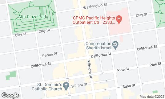 Map of Jane at 2123 Fillmore St San Francisco, CA