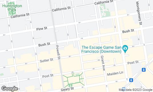 Map of Boba Guys at 429 Stockton St San Francisco, CA