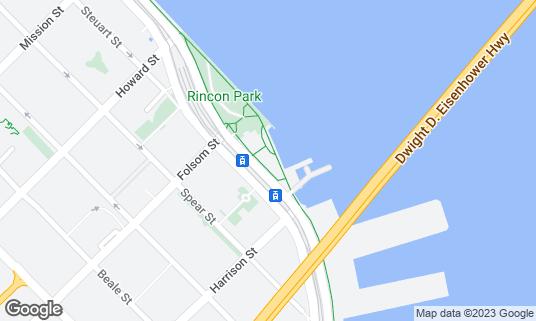 Map of Waterbar at 399 Embarcadero San Francisco, CA