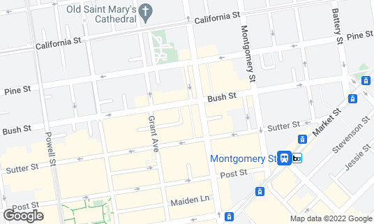 Map of Cafe Claude at 7 Claude Ln San Francisco, CA