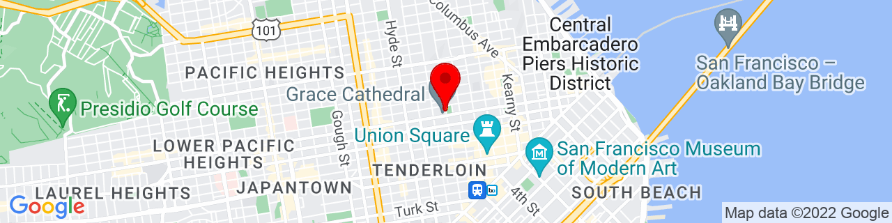 Google Map of 37.7920245, -122.4126506