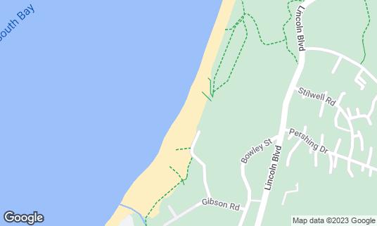 Map of Baker Beach at 1504 Pershing Dr San Francisco, CA