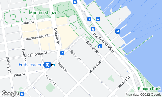 Map of Autodesk Gallery at 1 Market St Fl 2 San Francisco, CA