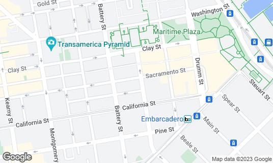 Map of Royal Exchange at 301 Sacramento St San Francisco, CA