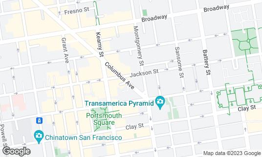 Map of Bask at 42 Columbus Ave San Francisco, CA