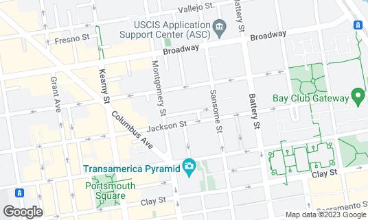 Map of Bix at 56 Gold St San Francisco, CA