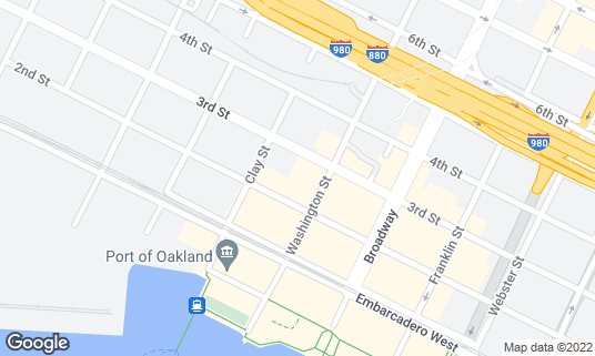 Map of Oakland Metro Opera House at 522 2nd St Oakland, CA
