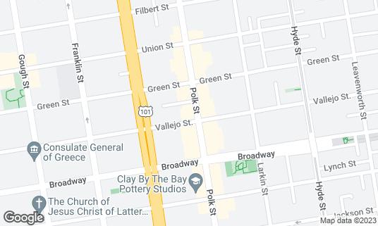Map of Bullitt at 2209 Polk St San Francisco, CA