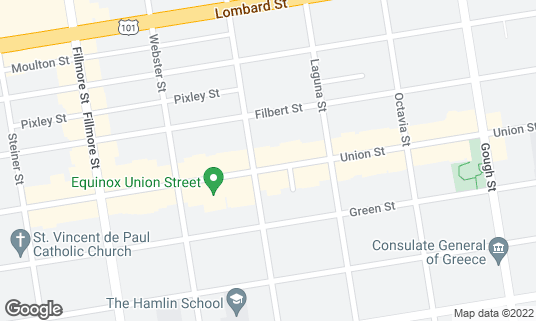 Map of Bar None at 1980 Union St San Francisco, CA