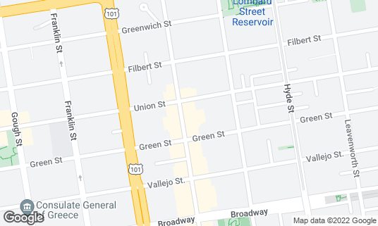 Map of Saint Frank at 2340 Polk St San Francisco, CA