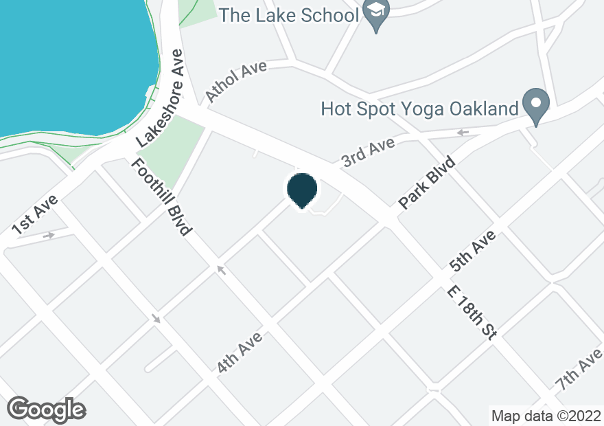 Google Map of301 E 18TH ST