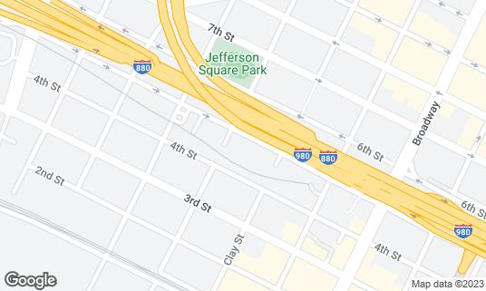 Map of BRIX 581 at 581 5th St Oakland, CA