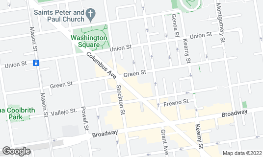 Map of Belle Cora at 565 Green St San Francisco, CA