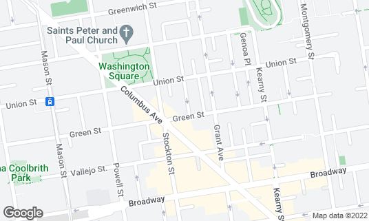 Map of Sotto Mare at 552 Green St San Francisco, CA