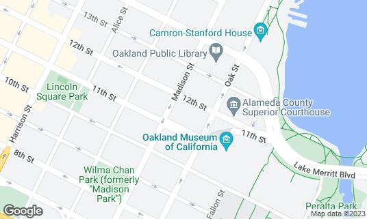 Map of Mad Oak Bar at 135 12th St Oakland, CA