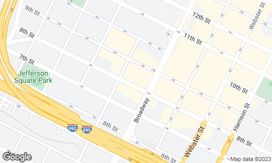 Map of Tamarindo Antojeria at 468 8th St Oakland, CA