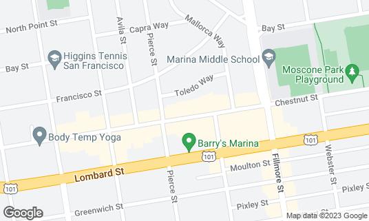 Map of Blackwood at 2150 Chestnut St San Francisco, CA