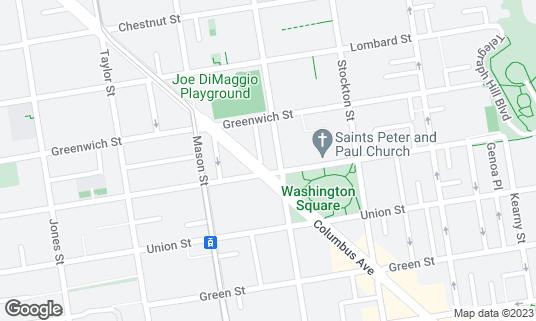 Map of Bodega at 700 Columbus Ave San Francisco, CA