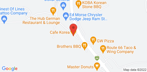 Directions to Cafe Korea
