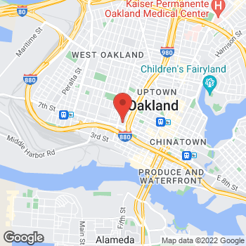 Map of Citi Trends at 900 Market St, Oakland, CA 94607