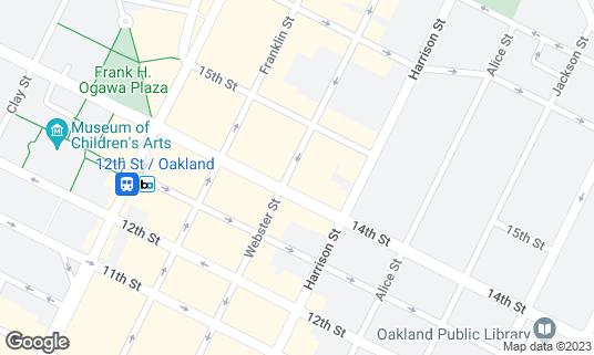 Map of New Karibbean City at 1408 Webster St Oakland, CA