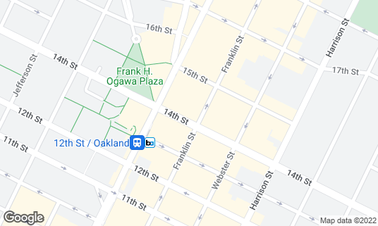Map of Geoffrey's Inner Circle at 410 14th St Oakland, CA