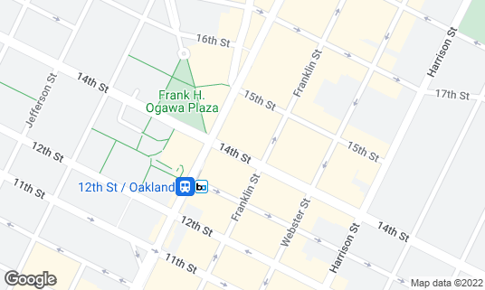 Map of Complex Oakland at 420 14th St Oakland, CA