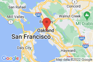 Map of Oakland