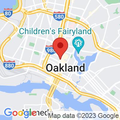Map showing Awaken Cafe