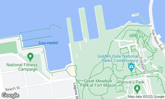 Map of Off the Grid at 2 Marina Blvd Bldg C370 San Francisco, CA