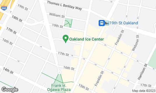 Map of Make Westing at 1741 Telegraph Ave Oakland, CA
