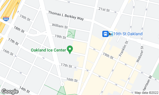 Map of Fox Theater at 1807 Telegraph Ave Oakland, CA