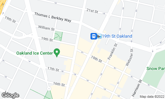 Map of Duende's at 468 19th St Oakland, CA