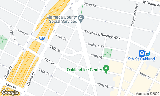 Map of Belly Uptown at 1901 San Pablo Ave Oakland, CA