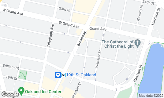 Map of Club BNB - Bench and Bar at 2120 Broadway Oakland, CA