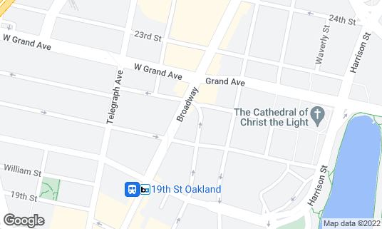 Map of Agave Uptown at 2135 Franklin St Oakland, CA