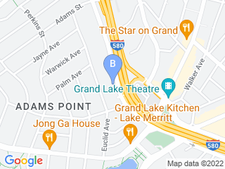 Map of Bliss Bound Hound Dog Boarding options in Oakland | Boarding