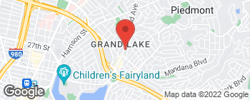 Map of 3608 Grand Ave in Oakland