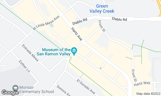 Map of Danville Brewing Co at 200 Railroad Ave Danville, CA