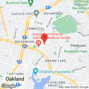 Map of Dignity Health - GoHealth Urgent Care Piedmont Avenue at 3900 Piedmont Ave, Oakland, CA 94611