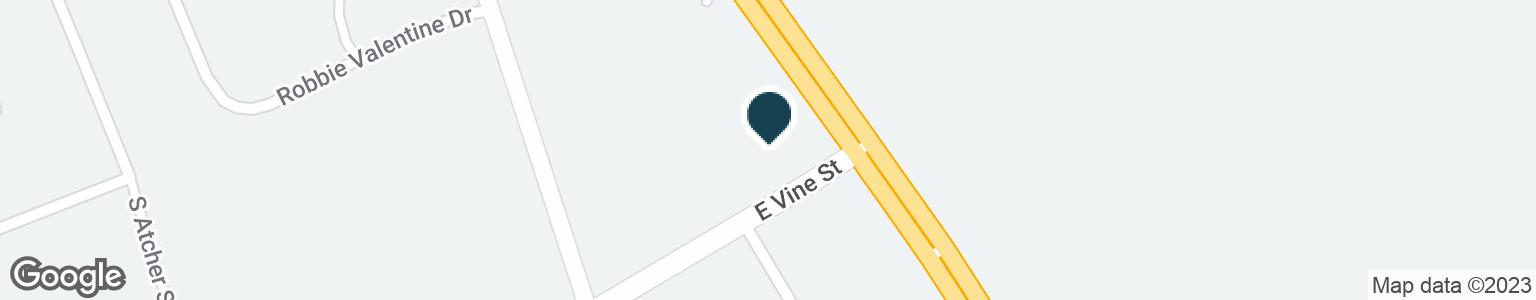 Google Map of635 S DIXIE BLVD