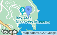 Map of Sausalito, CA